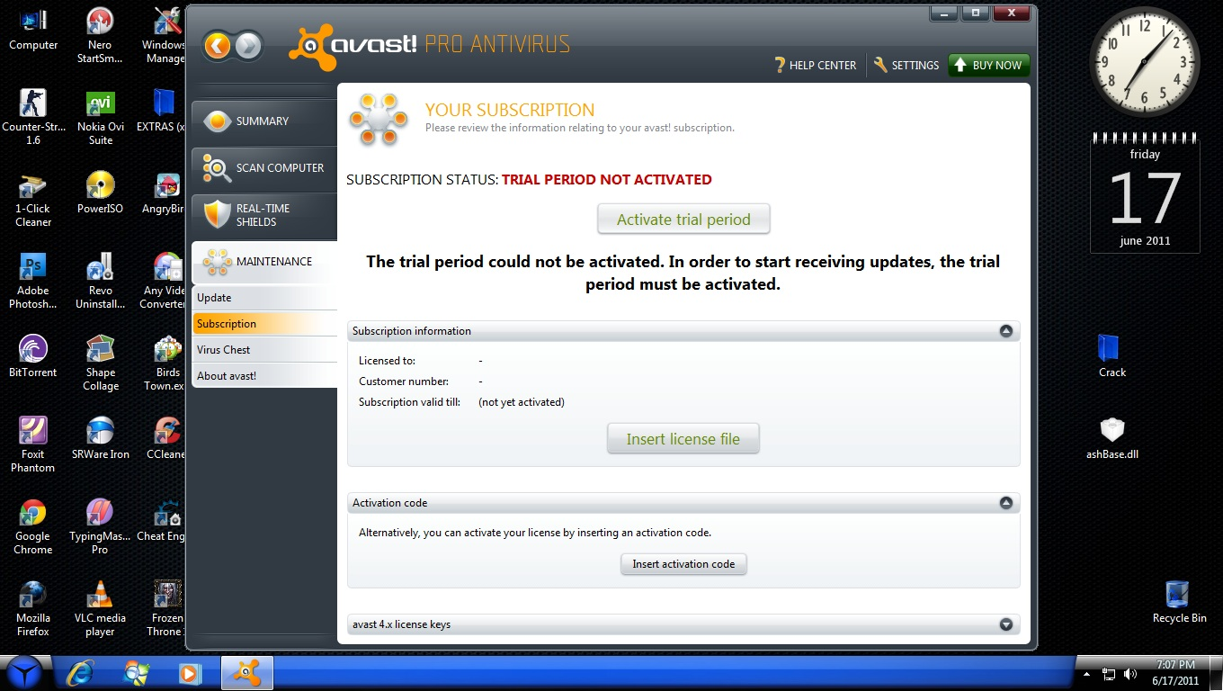 Avast 6 licence file. forefront endpoint protection definition.