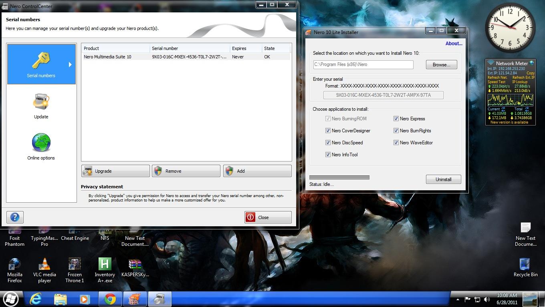 Nero Multimedia Suite Mar 7, 2011.